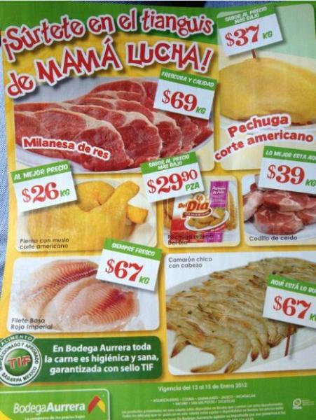 Tianguis de Mamá Lucha Bodega Aurrerá enero 13: piña $13.90 Kg, manzana $19.90 Kg y más