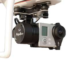 Amazon Mx: FeiYu G3 2-Axis Brushless Gimbal With Phantom Mount Camera (No Disponible por el Momento)
