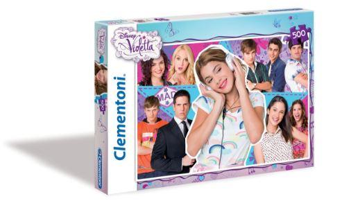Amazon: Rompecabezas Clementoni 500 Piezas de Violetta