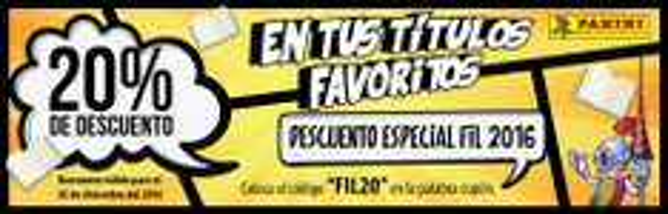 Editorial Panini: 20% de Descuento (Cómics, Manga, Coleccionables)