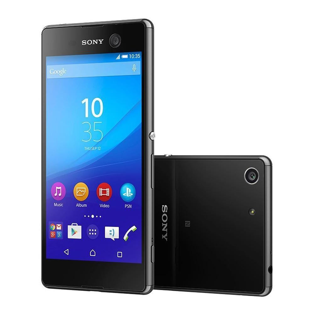 Walmart on line: Smartphone Sony Xperia M5 16 GB Negro LTE Desbloqueado