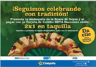 Ofertas especiales con Bancomer en Cinépolis, Pizza Hut, Starbucks y más
