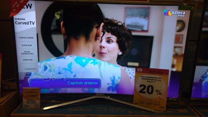 """Chedraui: Samsung Smart TV 49"""" Curva UN49K6500"""
