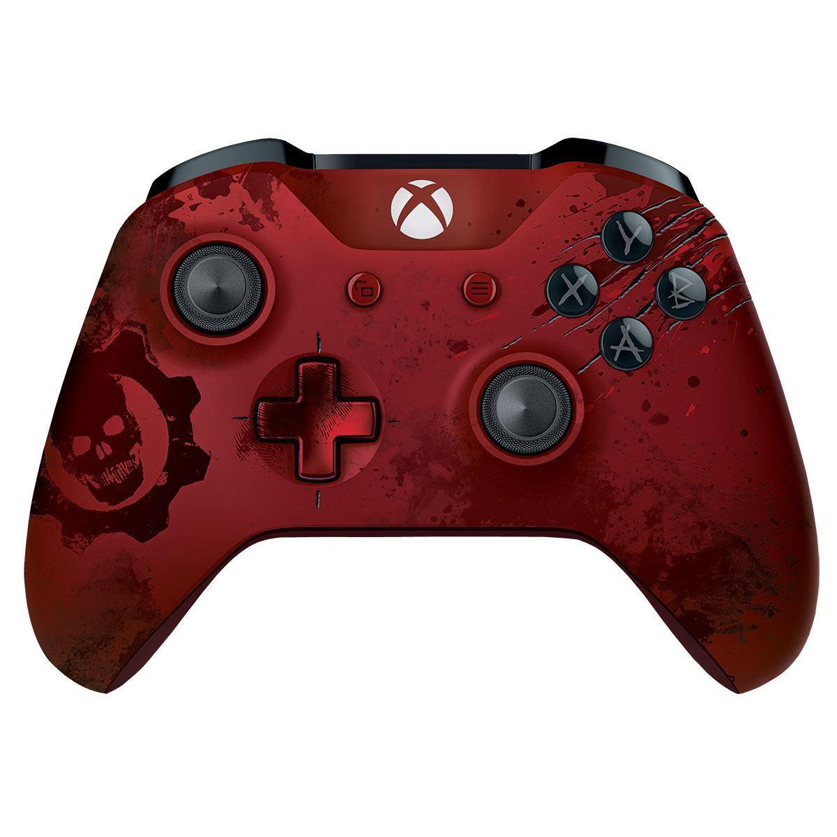 Claro Shop: Xbox One - Control Crimson GOW4 ó Control Negro con Play and charge