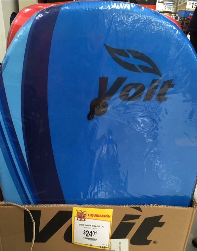 Walmart - Liquidación .01 artículos de natación VOIT