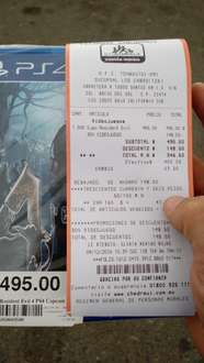 Chedraui: resident evil 4 para PS4 y Xbox One $346.50