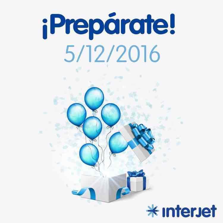 Onceavo aniversario de interjet!
