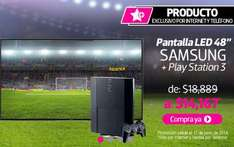 "Liverpool: Samsung LED Smart TV 48"" + PS3 $14,167"
