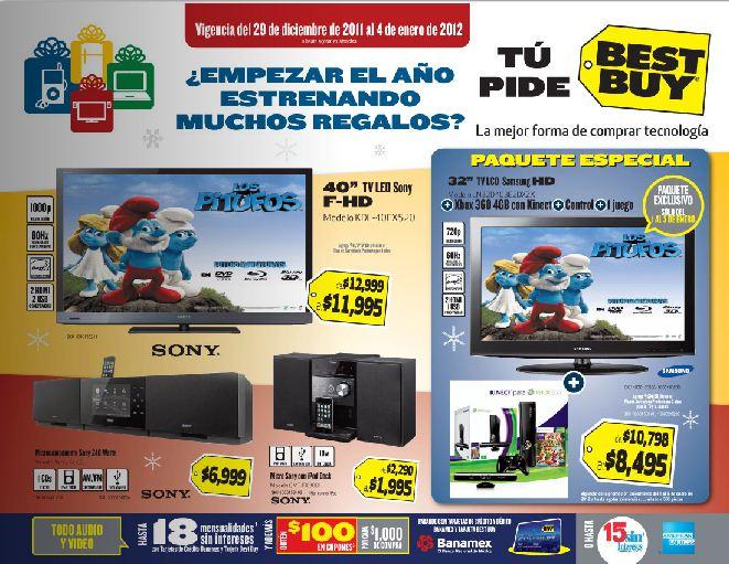 Folleto Best Buy diciembre 29: descuentos en pantallas, cámaras, software educativo y más