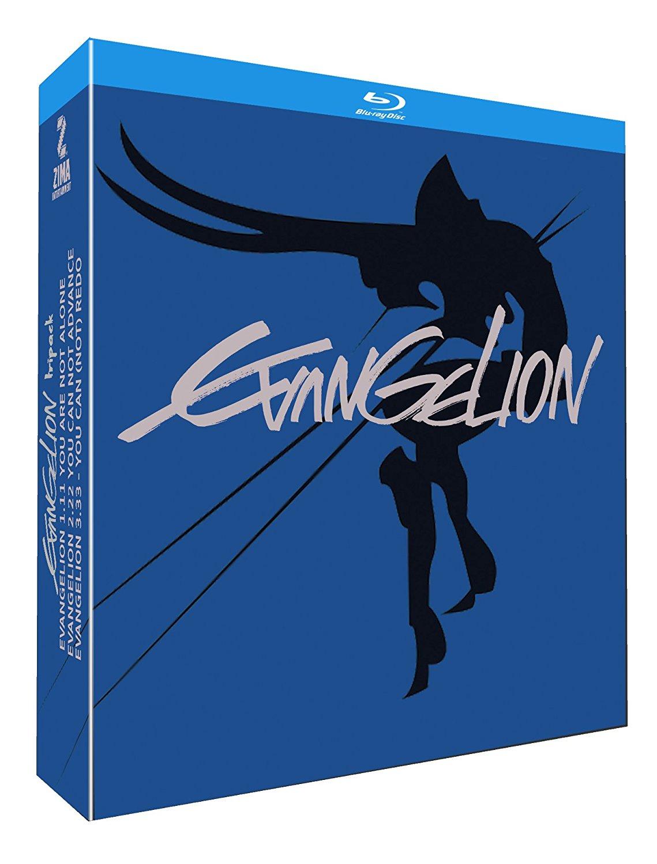 Amazon Mexico: Evangelion. 3 Blu-ray Pack (1.11 + 2.22 + 3.33) [Blu-ray]
