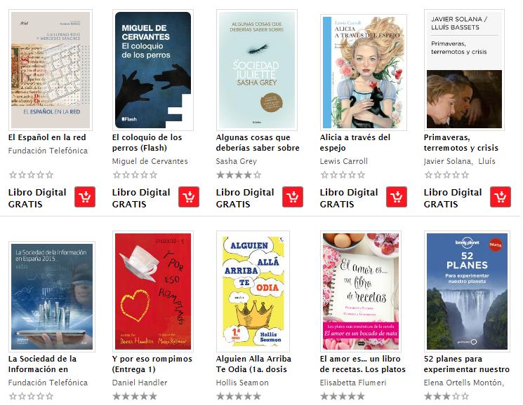 136 Libros GRATIS!! en formato epub en la Tienda en Linea Sanborns