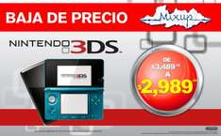 Mixup: Nintendo 3DS a $2,989