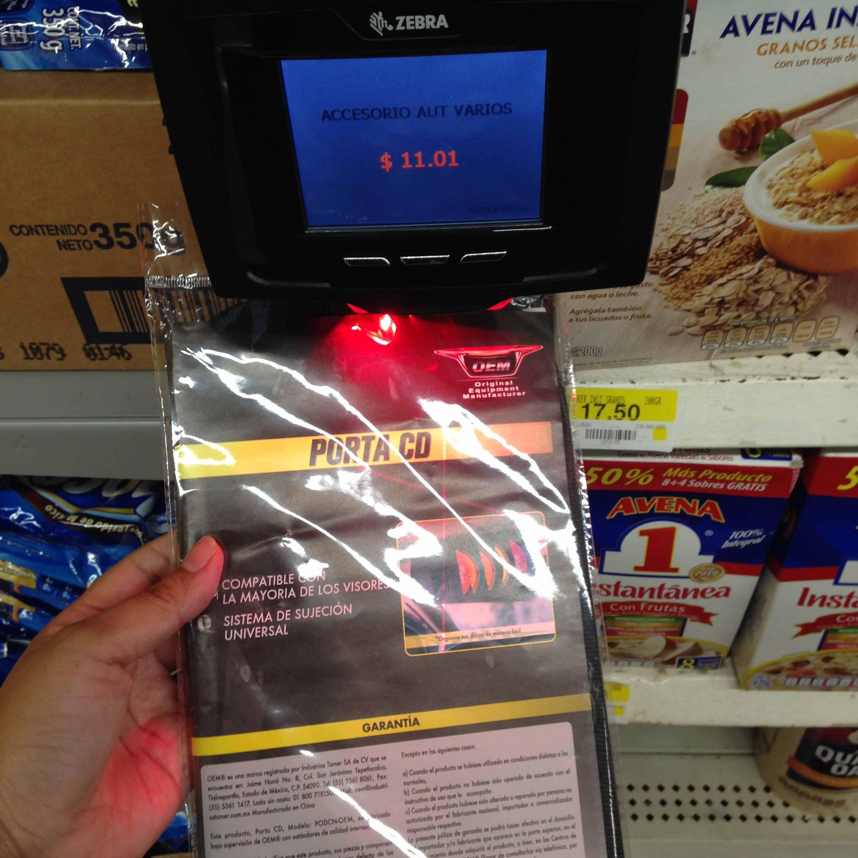 Walmart, Carrizal. Vhsa., Tabasco: Porta CD y accesorios para autos a $11.01 y más