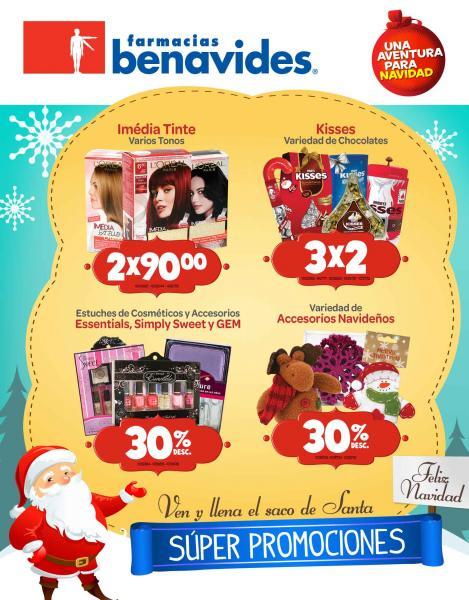 Folleto Farmacias Benavides: 3x2 en chocolates Kisses, comida Heinz, jabón Dial y más