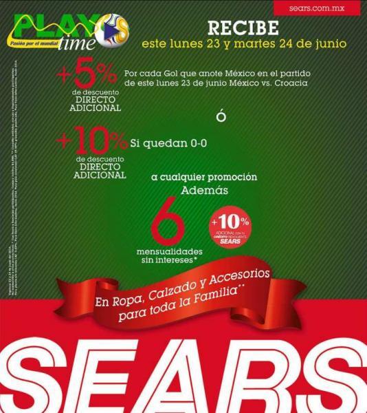 Sears: rebajas de verano 2014 (hasta 70% de descuento)