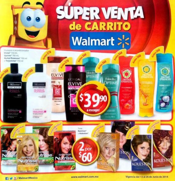 Folleto de ofertas Walmart del 13 al 26 de junio