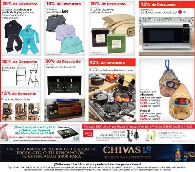 Fin de año espectacular City Club: bonificación de IVA, mitad de precio en membresía y buenas ofertas