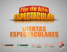 """Fin de año espectacular"" en Soriana y City Club"