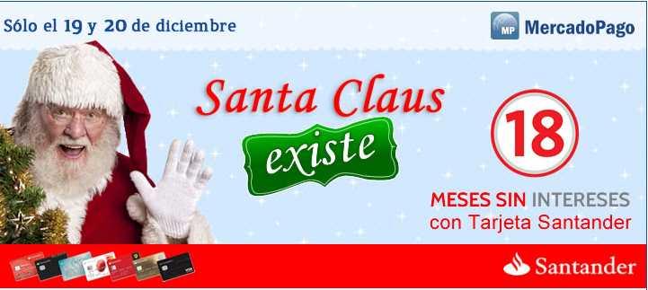Mercado Libre: 18 meses sin intereses con Santander 19 y 20 de diciembre