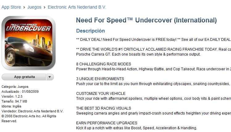 Juegos gratis: ofertas diarias de EA Mobile para iPhone, iPad y Android