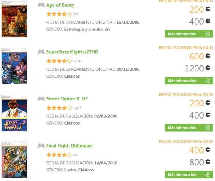 Oferta de la semana Xbox Live: juegos de Capcom a mitad de precio