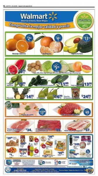 Martes de frescura Walmart noviembre 29: naranja $2.60, aguacate $14.50 y más