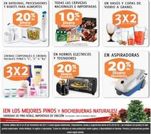 Soriana Hiper: ofertas en aspiradoras, cremas, pañales, celulares, cervezas y más