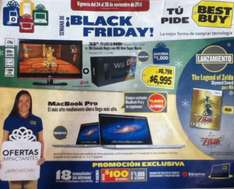 Folleto Black Friday de Best Buy: gratis iPod Shuffle y tarjeta SD con cámra Fuji y más