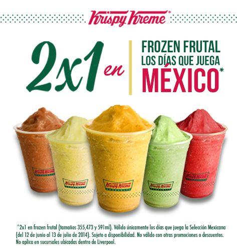 Krispy Kreme y El Globo: 2x1 en bebidas, pasteles y frozen natural