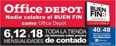 Ofertas Buen Fin Office Depot: laptop, impresora láser y Office con Outlook $9,999 y más