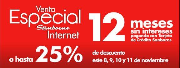 Venta especial online Sanborns: 10% de descuento en videojuegos, 20% en cámaras y más