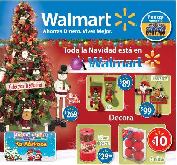 "Folleto Walmart: pantalla LG LCD 42"" y Blu-ray $8,490, combo Huggies $299, patona tequila $94"