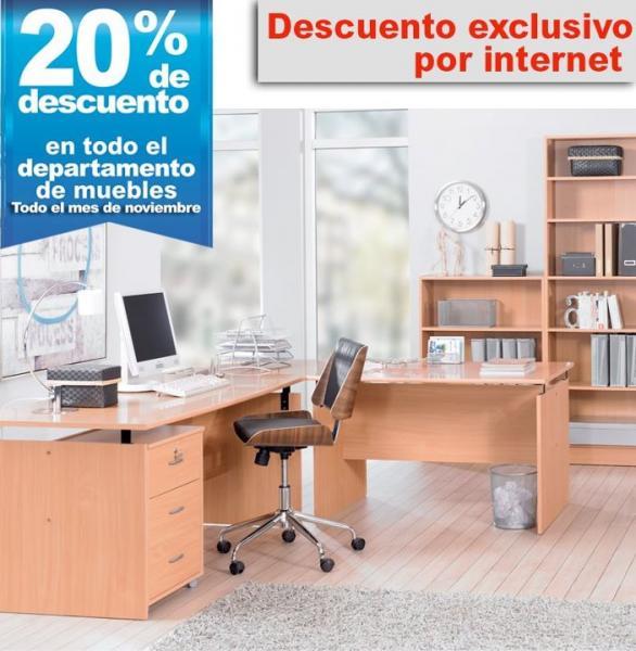 Office Depot: 20% de descuento en todos los muebles por internet y envío gratis