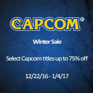 Nintendo: Venta de Invierno CAPCOM  (hasta 75% de descuento)