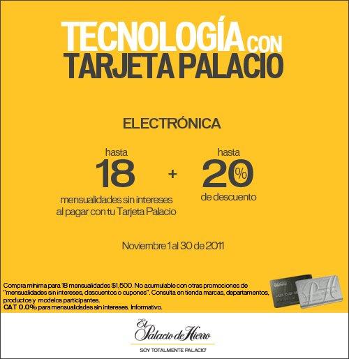 Palacio de Hierro: hasta 18 MSI y hasta 20% de descuento en electrónica
