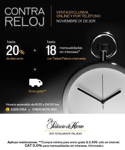 Palacio de Hierro: hasta 20% de descuento y hasta 18 MSI (online y ventas por teléfono)