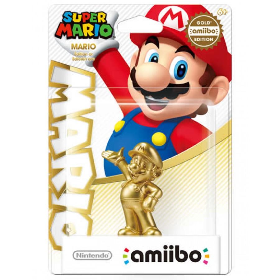 Game Planet: Amiibo Mario Dorado