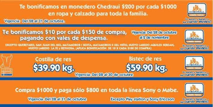 Chedraui: $200 de descuento por cada $1,000 de Sony y Mabe, $200 de bonificación en ropa y más