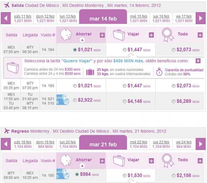 Volaris: vuelos nacionales desde $899 y a USA desde $150 en febrero