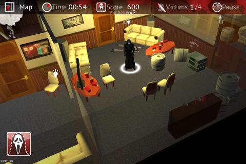 Scream 4 para iPhone, iPod y iPad gratis (videojuego). 5 estrellas