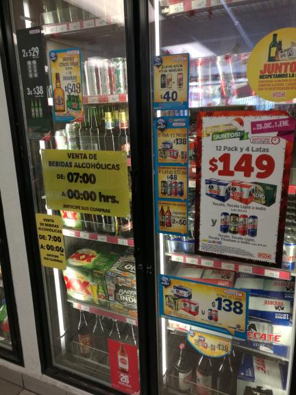 Oxxo: precio de las chelas y otras bebidas