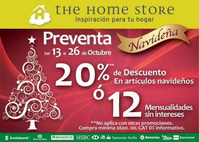 The Home Store: 50% de descuento en mercancía de Halloween y 20% en monedero en navideña