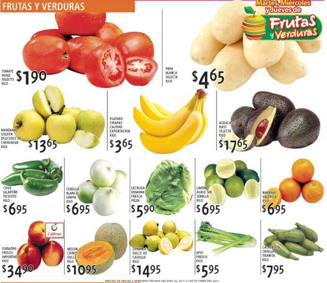 Martes de Mercado Soriana octubre 25: manzana $13.65, papa $4.65 y más