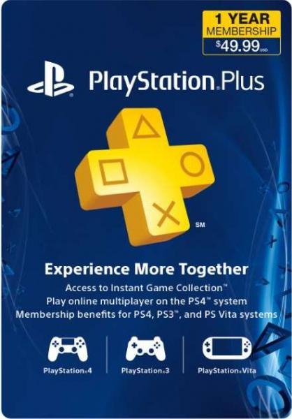 Amazon: 1 año PlayStation Plus $39.99 dólares (se necesita una dirección en USA)