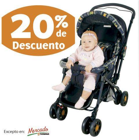 Soriana: 20% de descuento en todas las carreolas