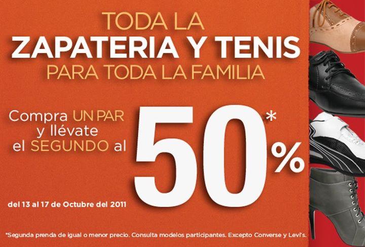 Suburbia: compra un par y el segundo al 50% en zapatería y tenis