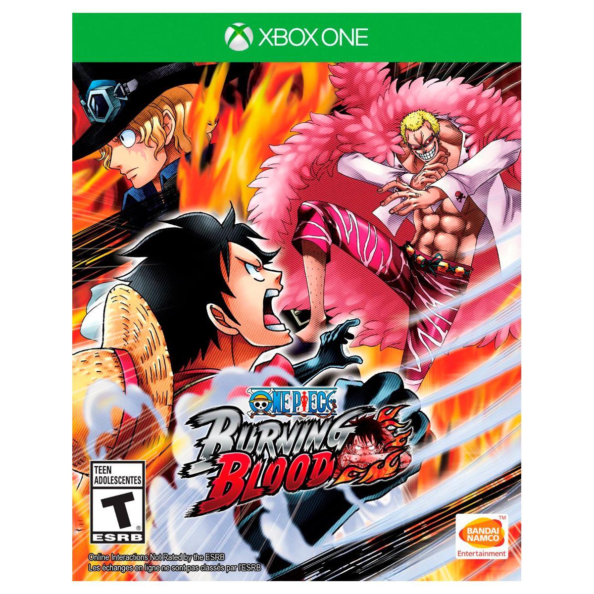 Claro Shop: Xbox One One Piece Burning Blood