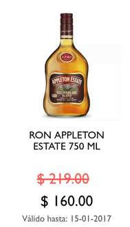 La Europea: Ron Appleton estate 750ml de 219 a $160