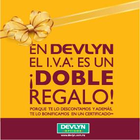 Ópticas Devlyn: IVA como doble regalo, descuento y bonificación