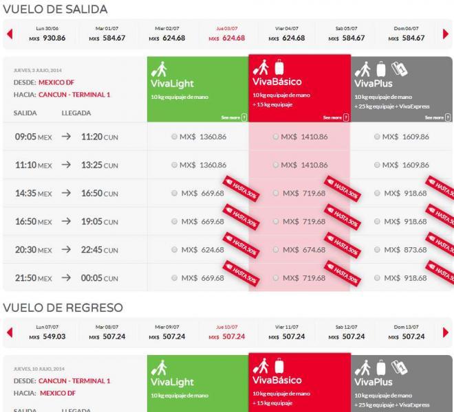 Vivaaerobus: hasta 75% de descuento para volar en verano (ej DF-Cancún redondo $1,095)